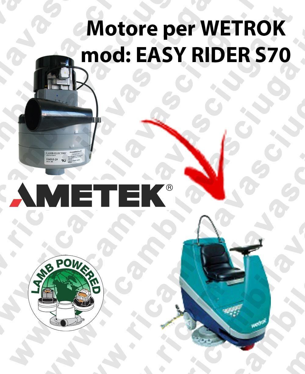 Wetrok EASY RIDER S70 MOTORE LAMB AMETEK di aspirazione per lavapavimenti