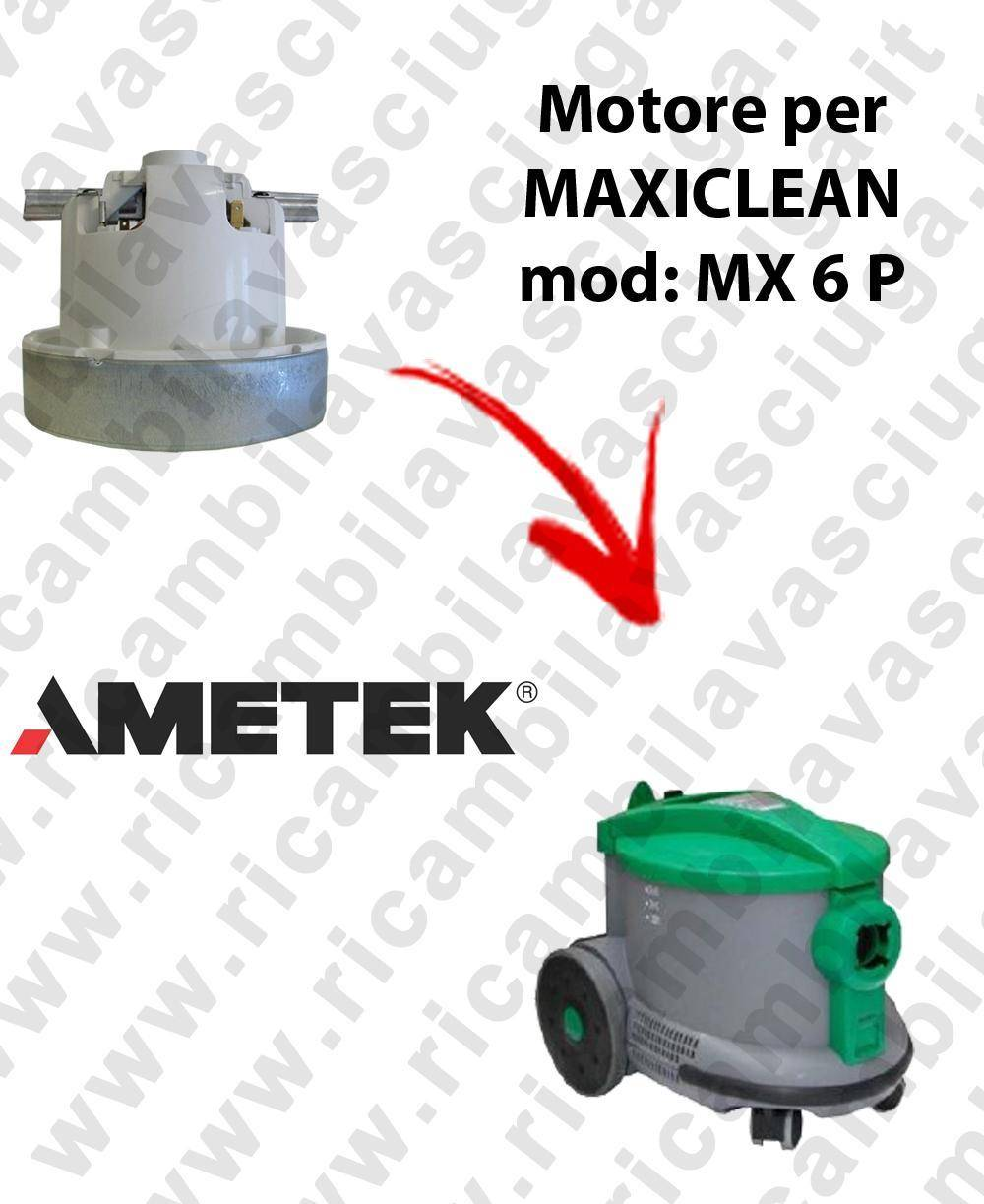 Synclean MX 6 P MOTORE AMETEK di aspirazione per aspirapolvere MAXICLEAN