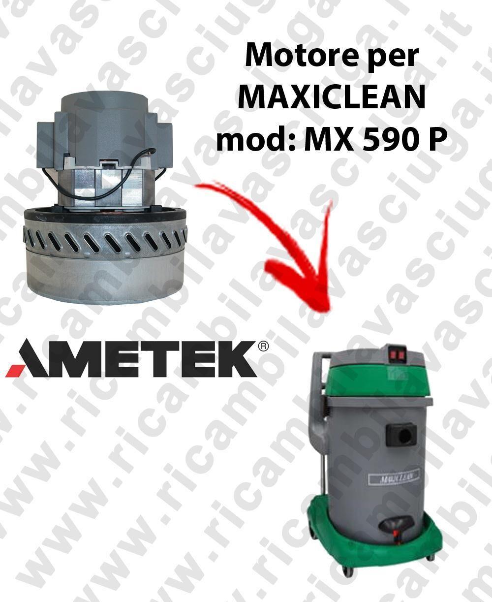 MAXICLEAN MX 590 P MOTORE AMETEK di aspirazione per aspirapolvere e aspiraliquidi