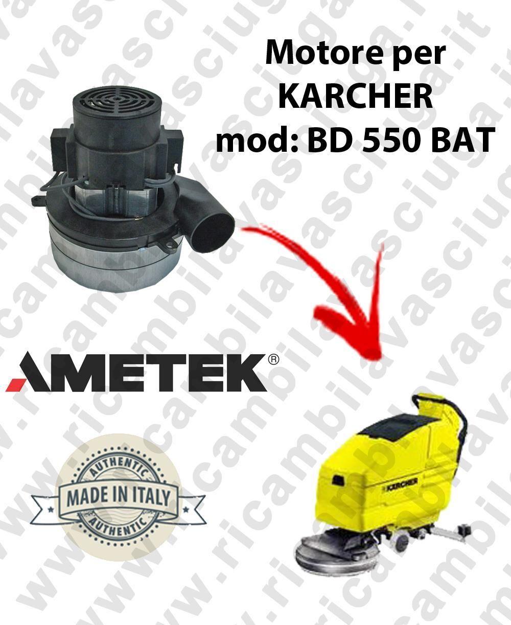 Karcher BD 550 BATT MOTORE AMETEK di aspirazione per lavapavimenti