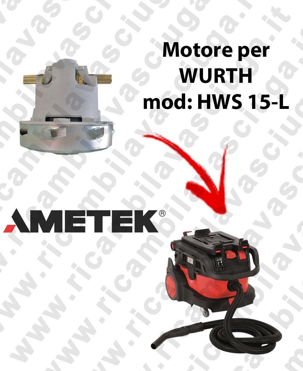 Wurth HWS 15-L automatic MOTORE aspirazione AMETEK per aspirapolvere