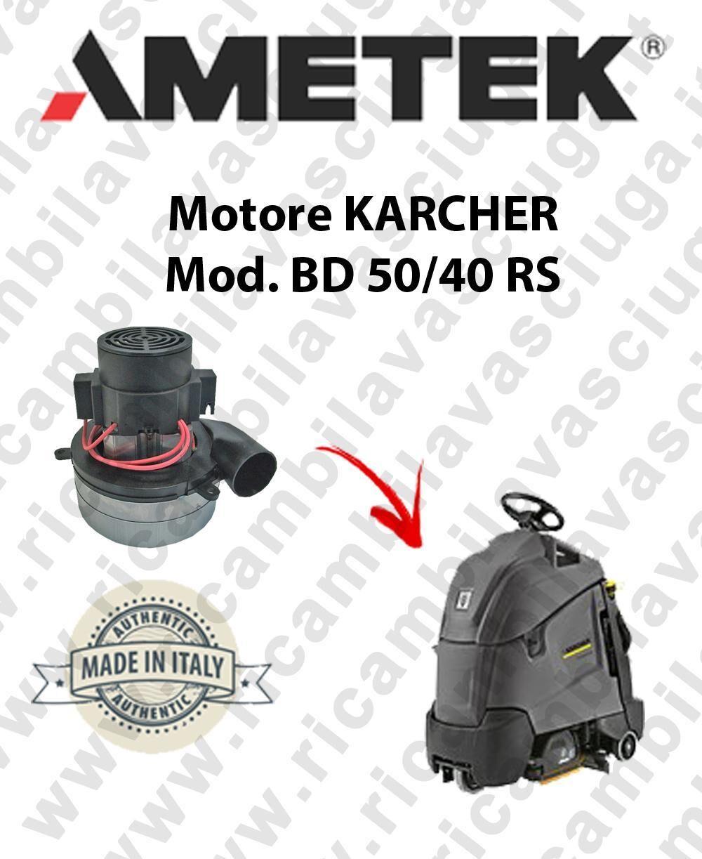 Karcher BD 50/40 RS MOTORE aspirazione AMETEK lavapavimenti