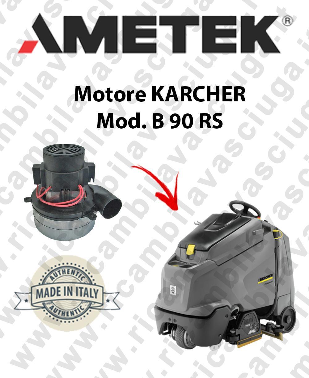 Karcher B 90 RS MOTORE aspirazione AMETEK lavapavimenti
