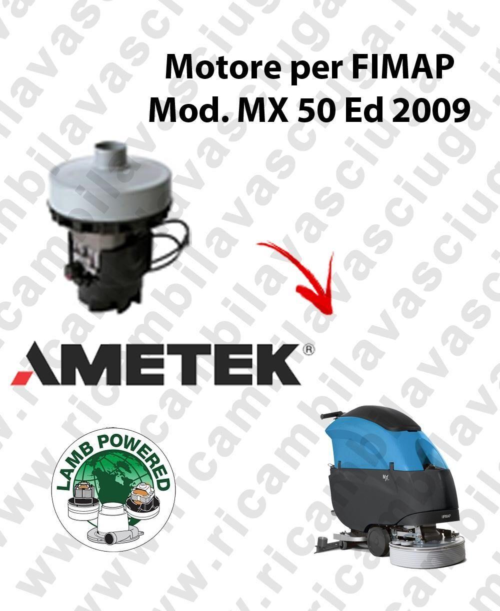 Fimap MX 50 Ed. 2009 MOTORE aspirazione LAMB AMETEK lavapavimenti
