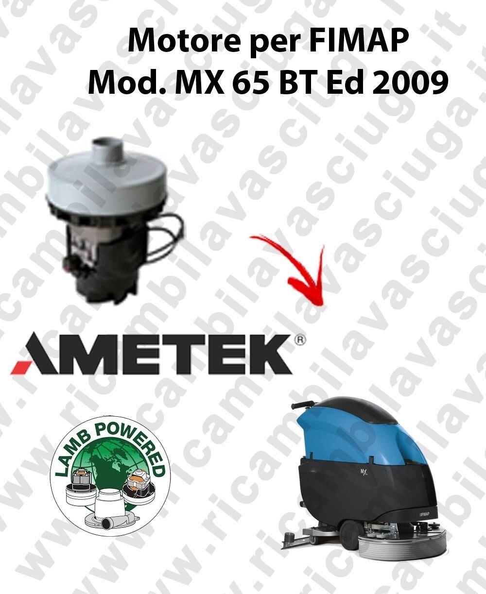 Fimap MX 65 BT Ed. 2009 MOTORE aspirazione LAMB AMETEK lavapavimenti