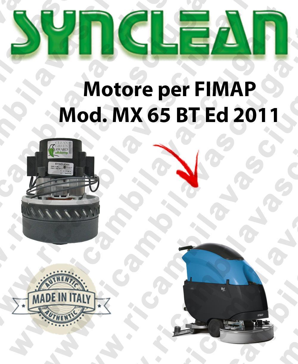 Fimap MX 65 Ed. 2011 MOTORE aspirazione SYNCLEAN lavapavimenti
