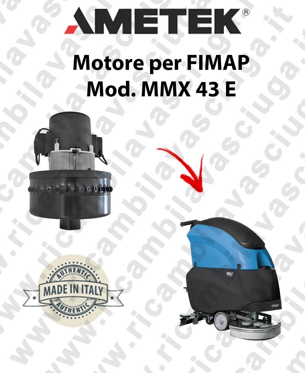 Fimap MMX 43 E MOTORE aspirazione AMETEK lavapavimenti