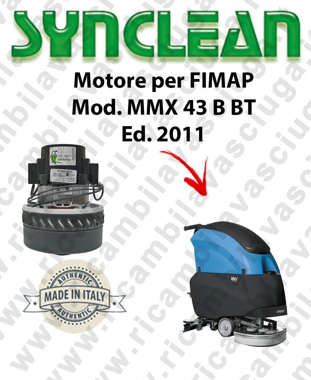 Fimap MMX 43 B-BT Ed. 2011 MOTORE aspirazione SYNCLEAN lavapavimenti