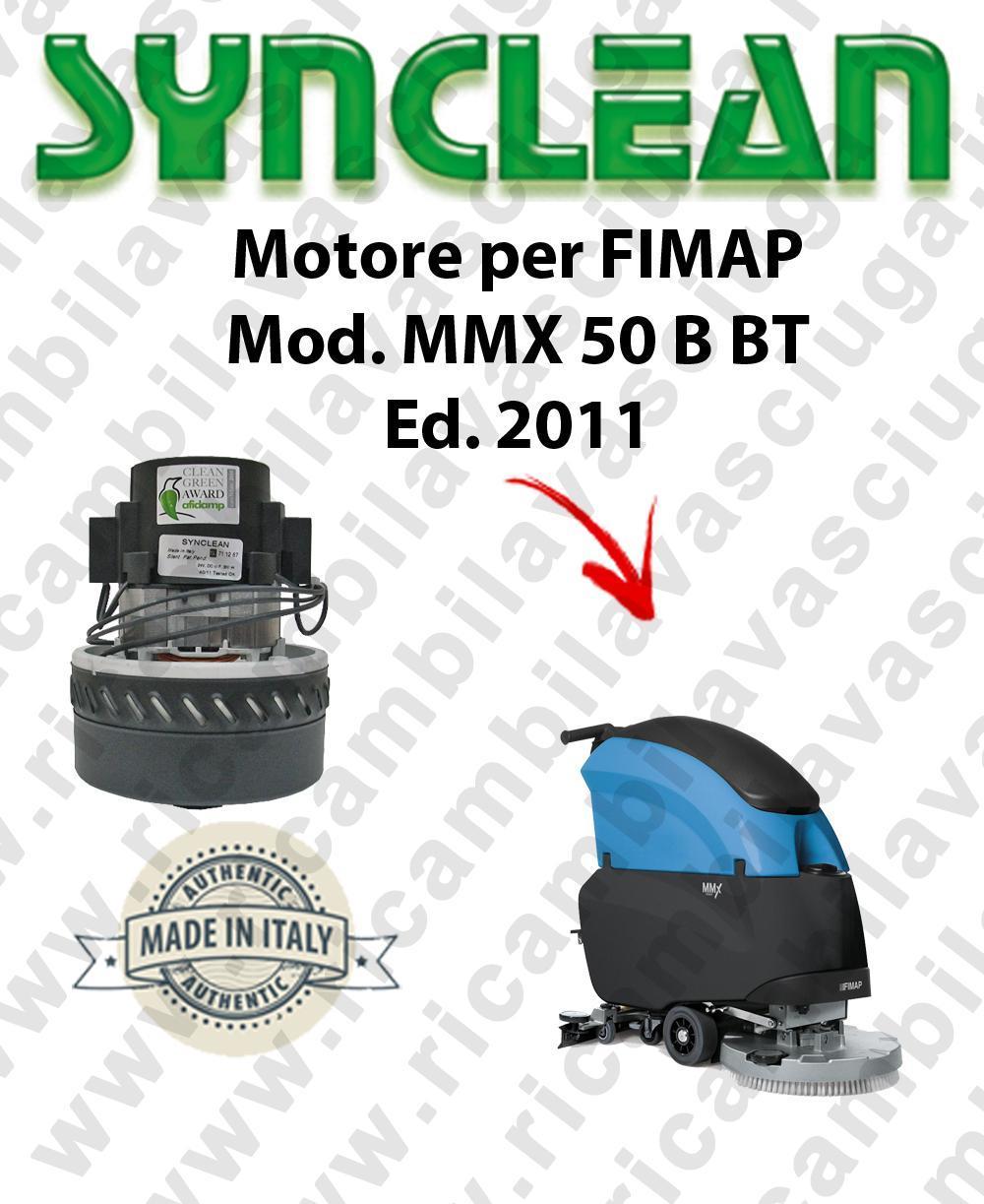Fimap MMX 50 B-BT Ed. 2011 MOTORE aspirazione SYNCLEAN lavapavimenti