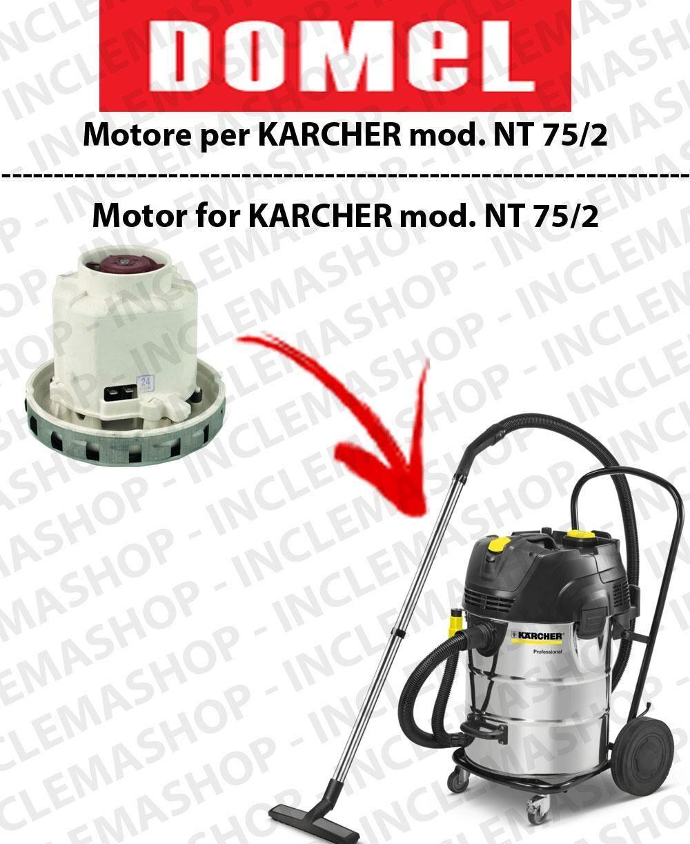 Karcher NT 75/2 MOTORE ASPIRAZIONE DOMEL per aspirapolvere