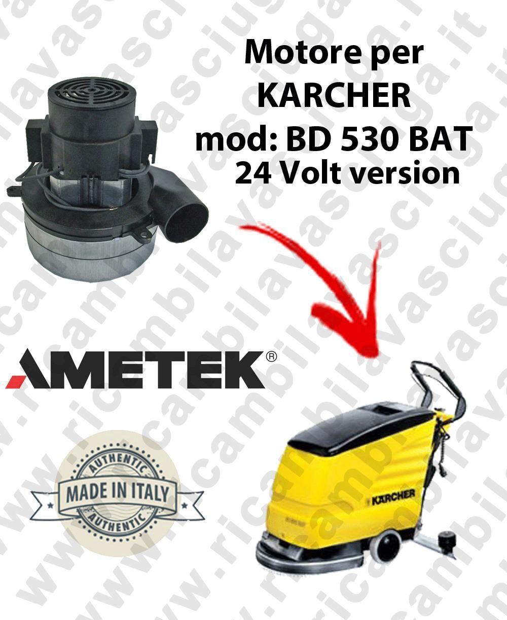 Karcher BD 530 BAT 24 VOLT Motore Ametek di aspirazione per lavapavimenti