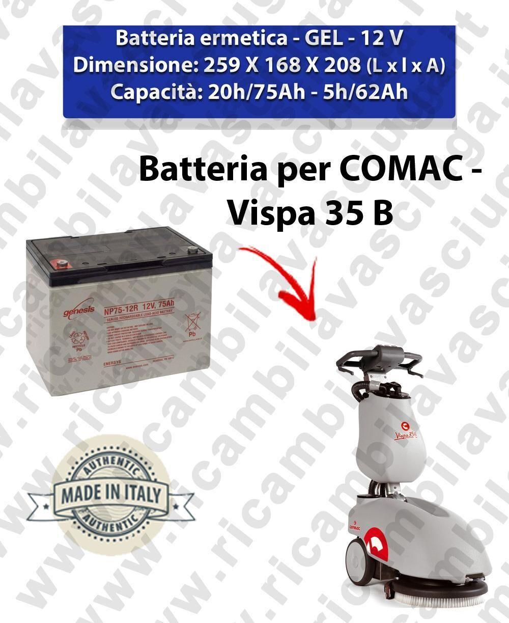 Fimap BATTERIA GEL per VISPA 35 B lavapavimenti COMAC