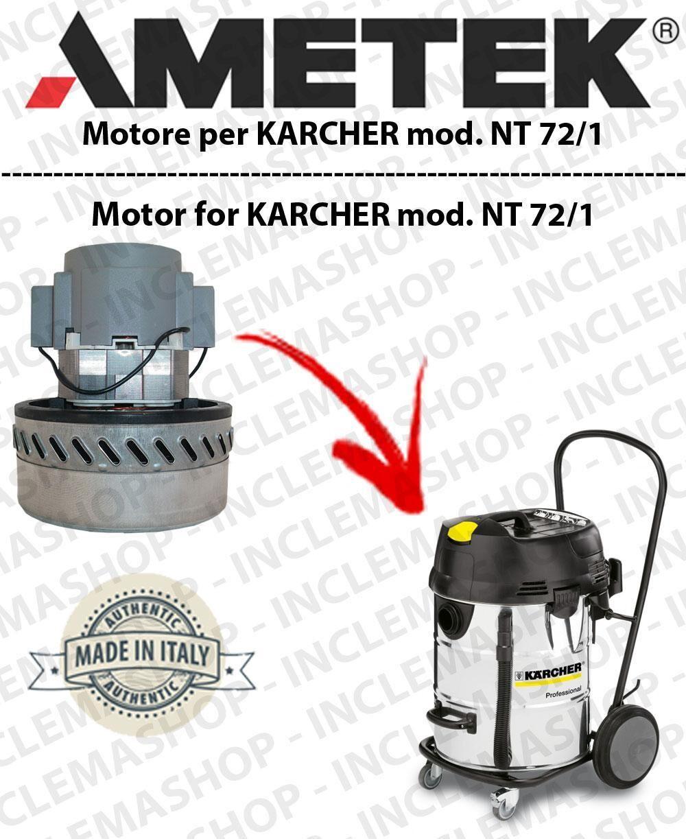 Karcher NT 72/1 MOTORE ASPIRAZIONE AMETEK per aspirapolvere