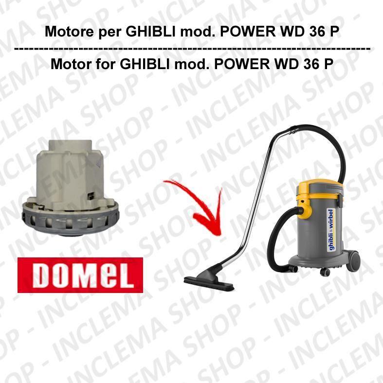Ghibli & Wirbel POWER WD 36 P motore aspirazione DOMEL per aspirapolvere GHIBLI