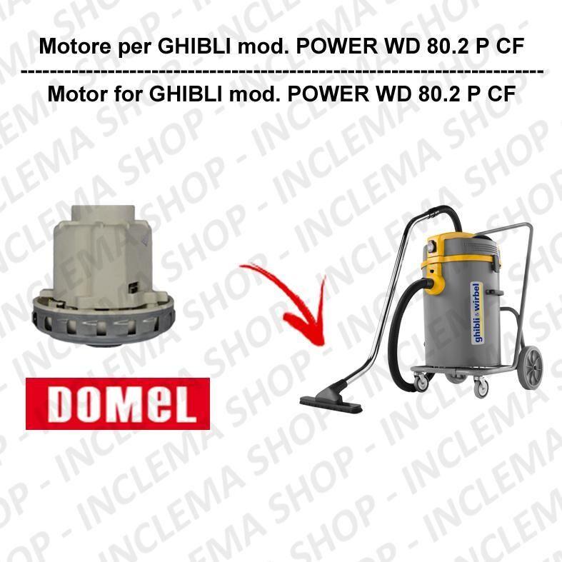 Ghibli & Wirbel POWER WD 80.2 P CF motore aspirazione DOMEL per aspirapolvere GHIBLI