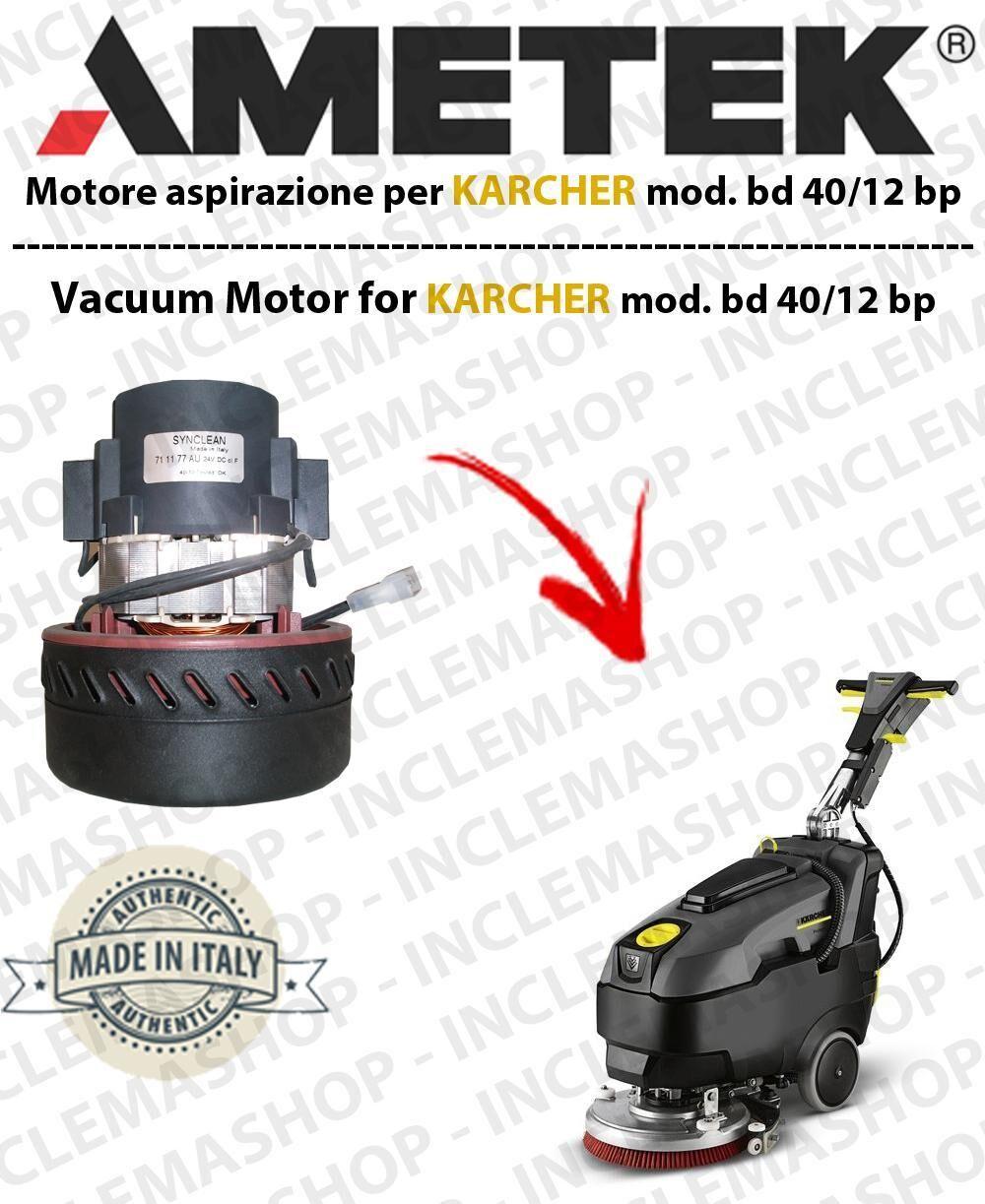Karcher BD 40/12 BP Motore aspirazione Synclean per Lavapavimenti