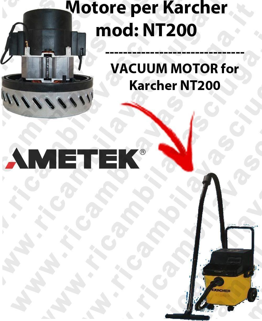 Karcher NT200 MOTORE ASPIRAZIONE AMETEK per aspirapolvere