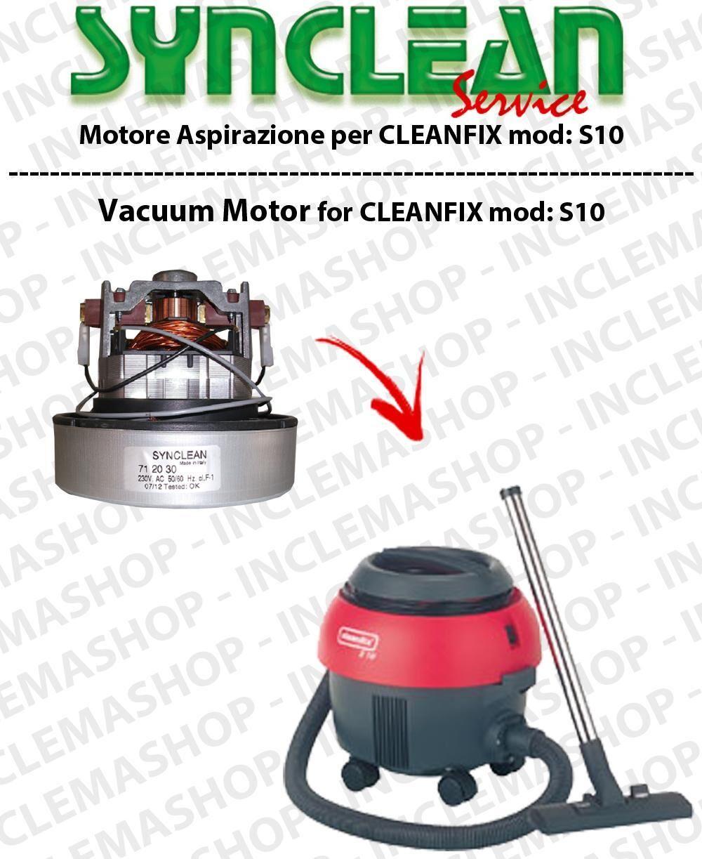 Cleanfix S10 MOTORE SYNCLEAN di aspirazione per aspirapolvere