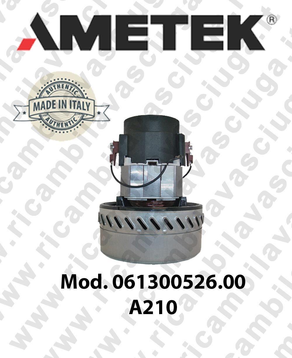 Ametek Motore aspirazione ITALIA 061300526.00 A 210 per aspirapolvere e aspiraliquidi