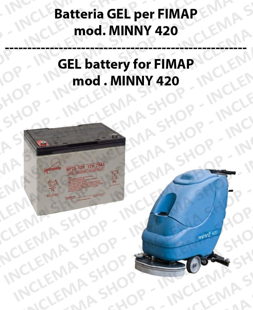 Fimap Batteria al GEL per lavapavimenti modello MINNY 420