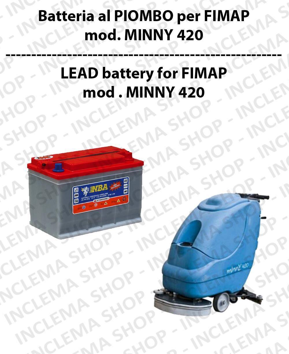 Fimap Batteria al PIOMBO per lavapavimenti modello MINNY 420