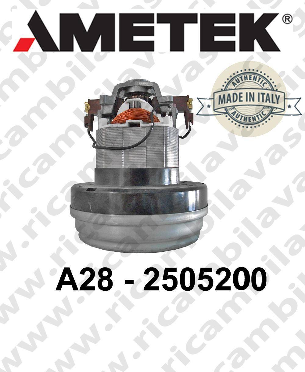 Ametek Motore di aspirazione ITALIA A28 2505200 per aspirapolvere