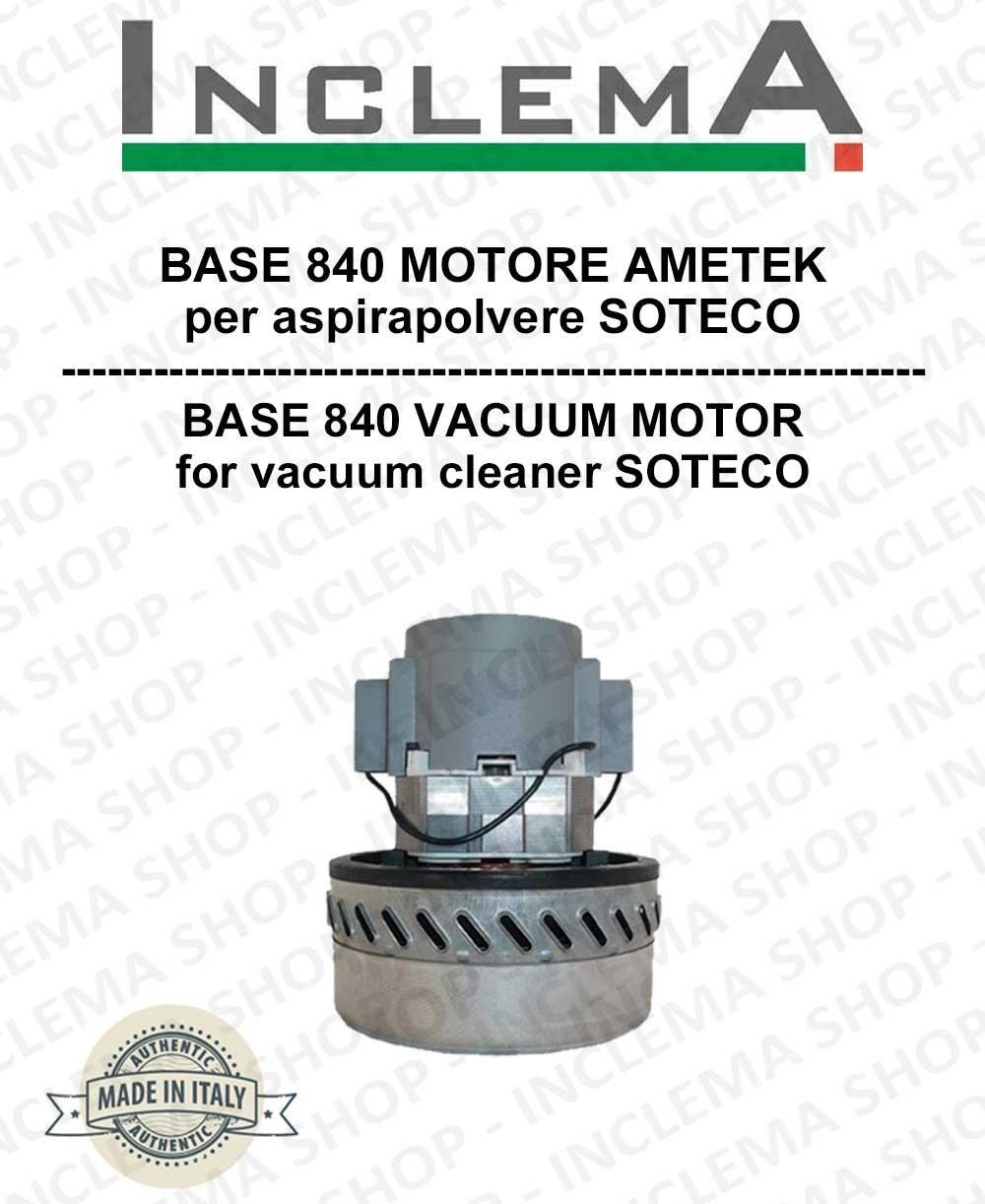 Soteco BASE 840 MOTORE ASPIRAZIONE AMETEK per aspirapolvere -2