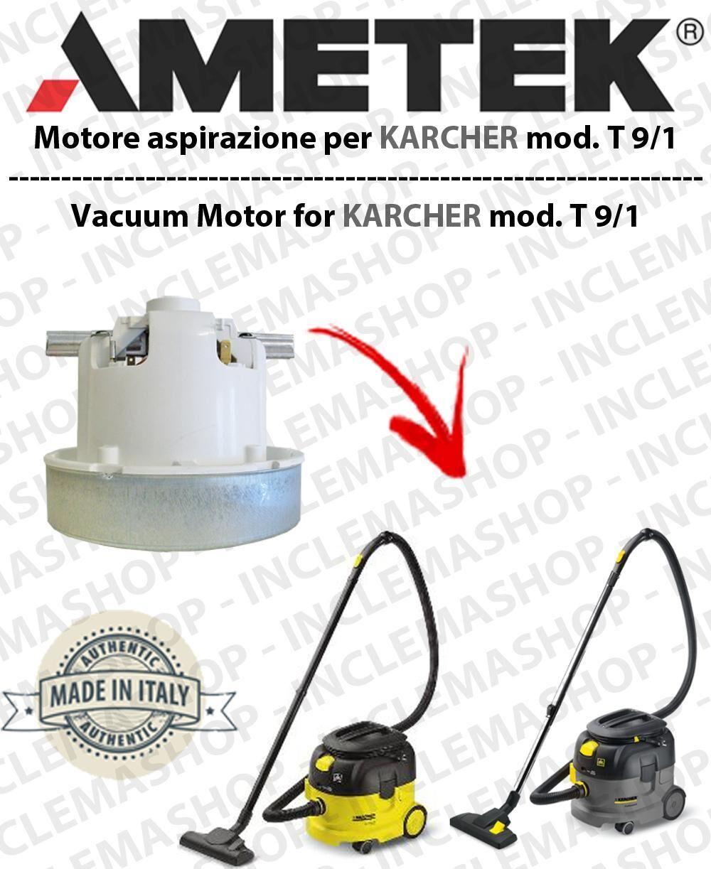 Karcher T 9/1 MOTORE AMETEK di aspirazione per aspirapolvere
