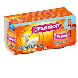 plasmon omogenizzato agnello 4 vasetti da 80 g