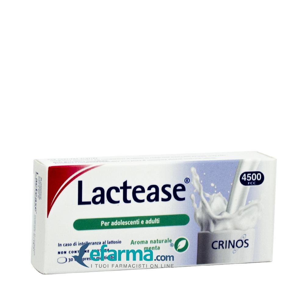lactease integratore alimentare intolleranza al lattosio 30 compresse masticabili