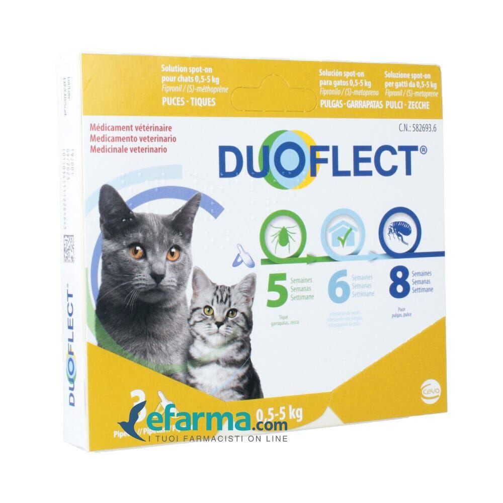 duoflect spot-on antiparassitario gatti 1-5 kg 3 pipette monodose