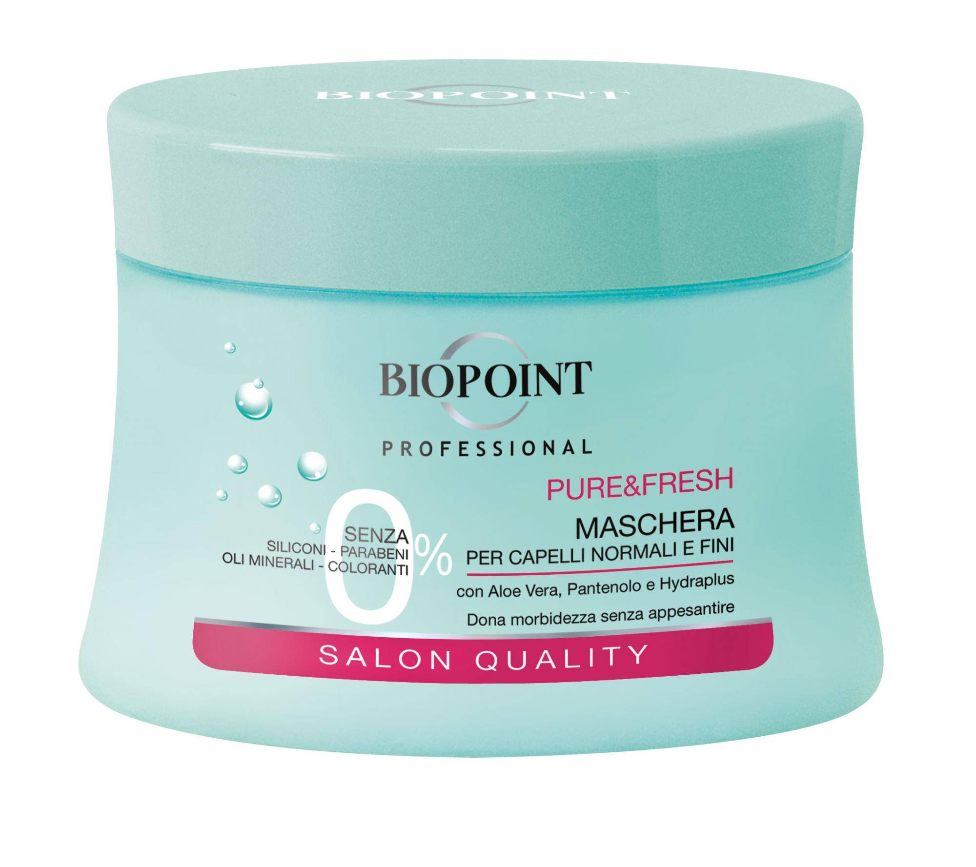 biopoint pv03817/pv04520 maschera per capelli 250 ml