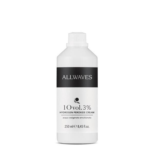 Waves Allwaves Acqua ossigenata emulsionata 10 vol. 9% 250 ml