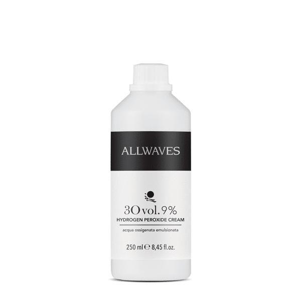 Waves Allwaves Acqua ossigenata emulsionata 30 vol. 9% 250 ml