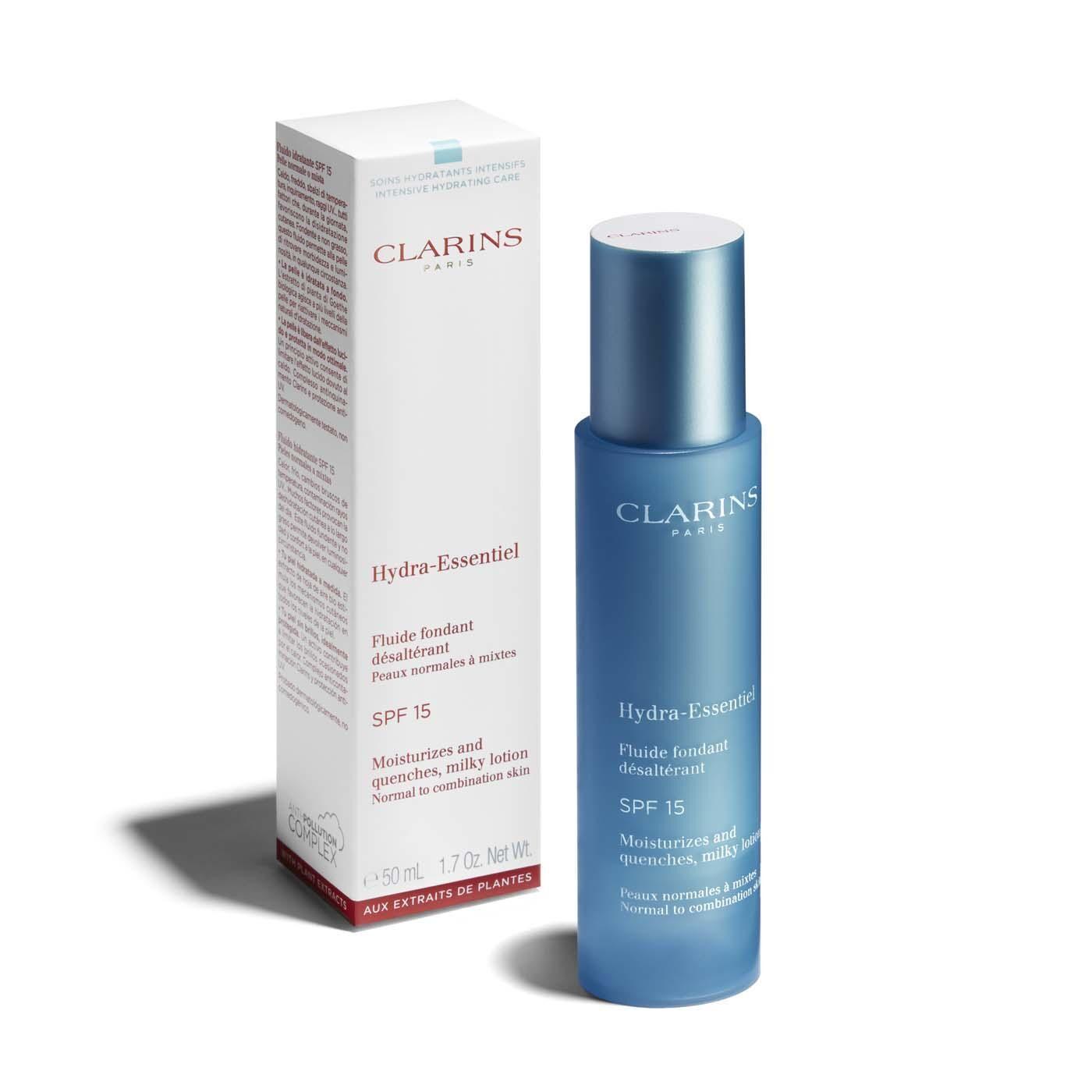 CLARINS Hydra-Essentiel Fluido idratante SPF 15 50 ml