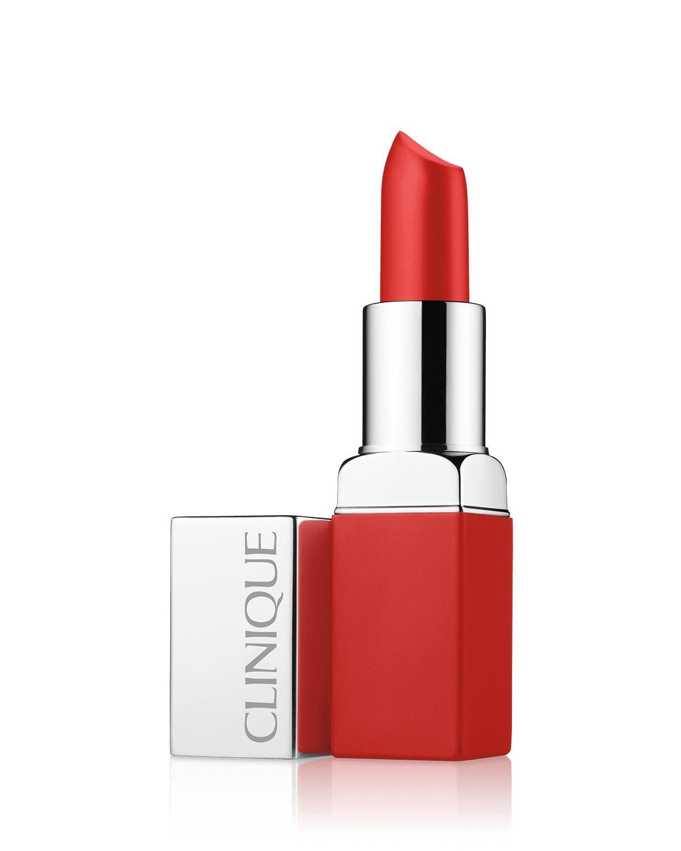 CLINIQUE Pop Matte Lip Colour + Primer, 03 Ruby Pop, 3.9g