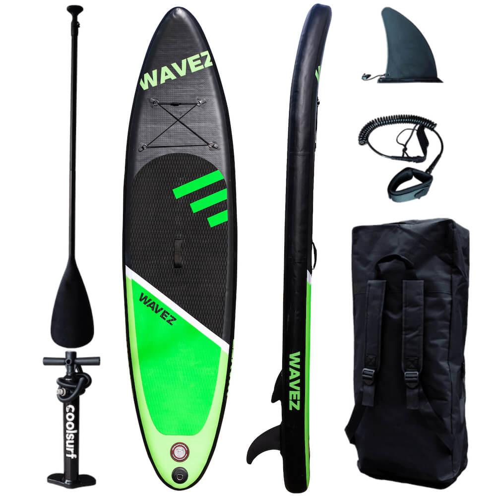 CoolSurf WAVEZ Kite Paddleboard - SUP Gonfiabile 2,90M