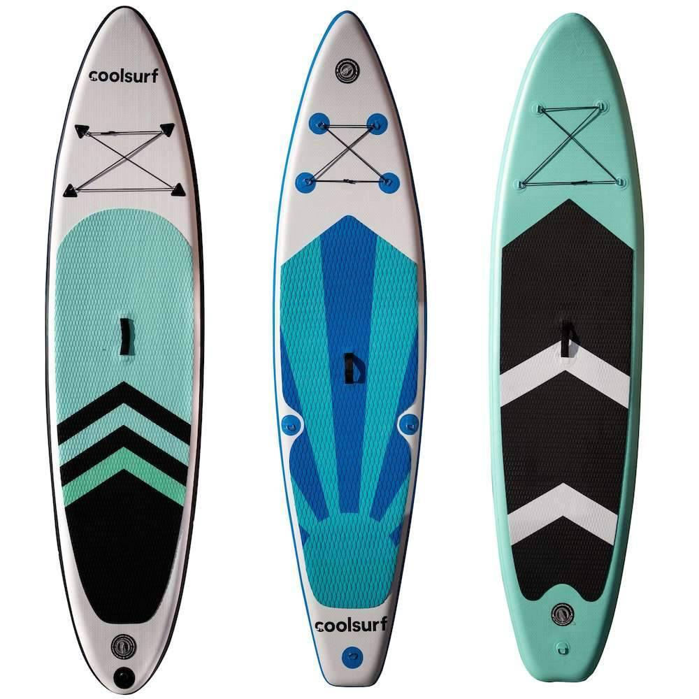 CoolSurf 3 x Paddleboard - Offerta pacchetto: mescolati