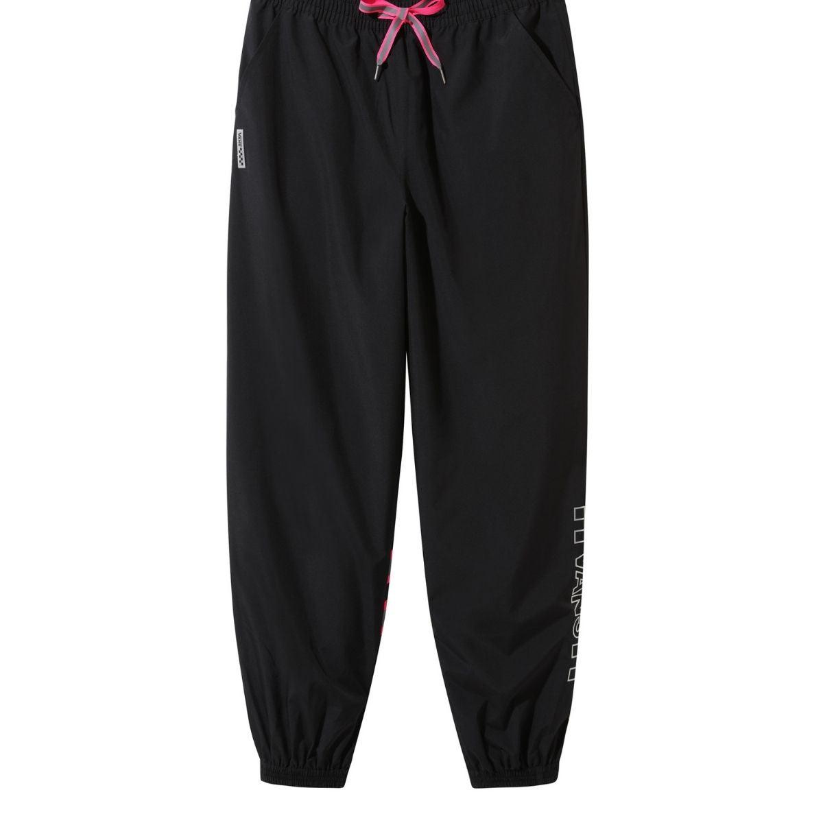 vans pantaloni donna wm after dark pant nero