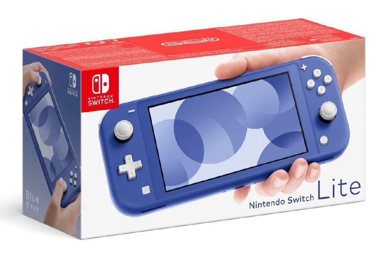 "nintendo switch lite blu [10004542]"""