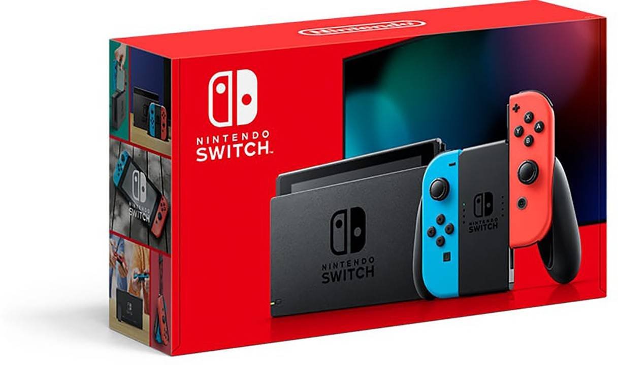 "Nintendo SWITCH NEON BLU/NEON RED [10002207]"""