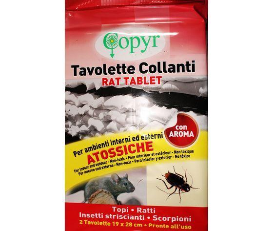 copyr trappola collante per topi e ratti