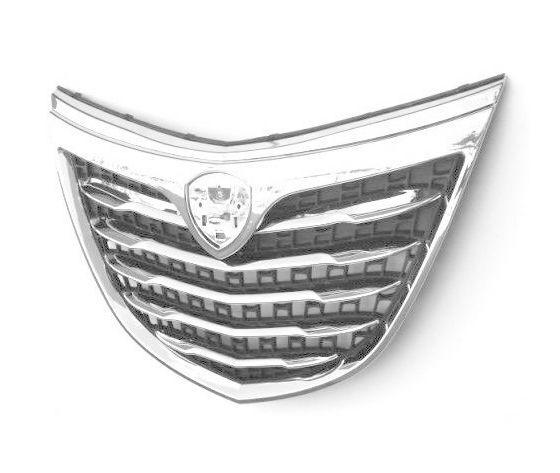 GENERICA Griglia Maschera Mascherina Radiatore Anteriore Lancia Y Ypsilon 2011 Cromata 5 Porte