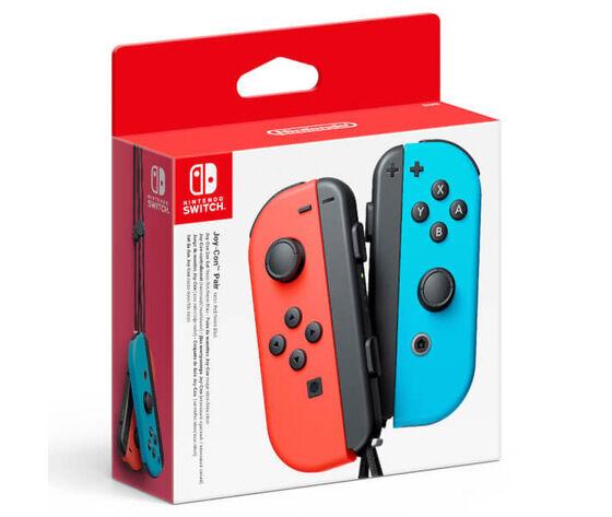 nintendo joy-con blu, rosso bluetooth gamepad analogico/digitale  switch