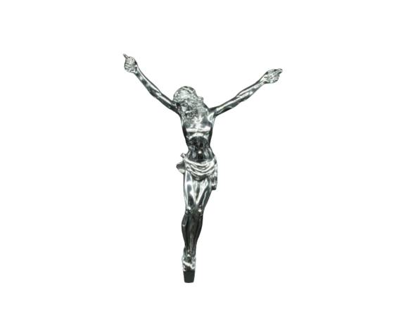 moda argenti cristo in argento complemento d'arredo