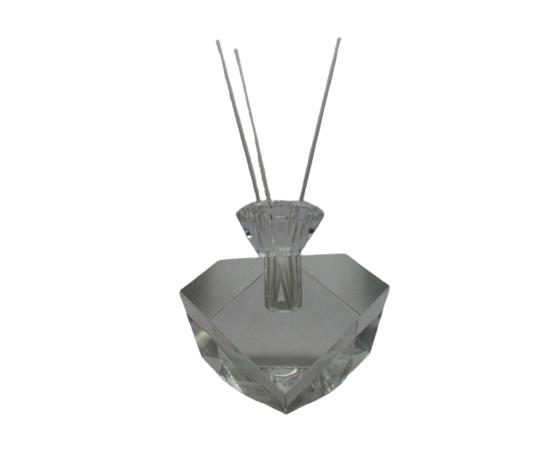 TUFANO CRISTAL Profumatore In Cristallo Complemento D'Arredo 13x11cm