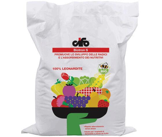 cifo biotron s  concime biologico leonardite 5 kg