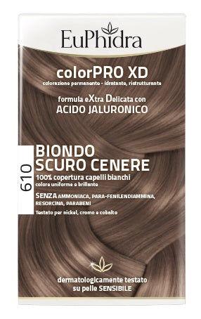Zeta Farmaceutici Spa Euphidra Colorpro Xd 610 Biondo Scuro Cenere
