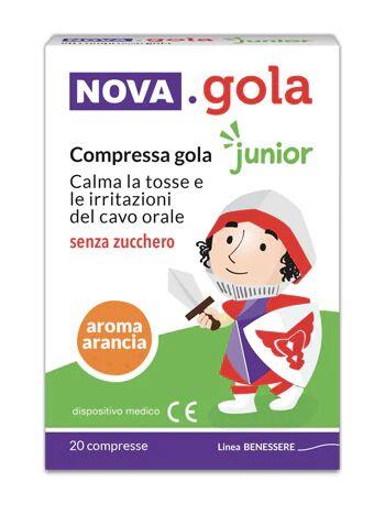 Nova Argentia Spa Nova Gola Junior Arancia 20 Compresse