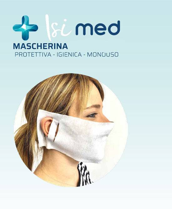 italian world srl isi med mascherina protettiva monouso 20 pezzi certificate ce